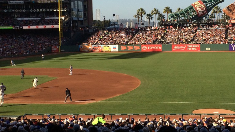 AT&T baseball park San Francisco Giants & Dodgers