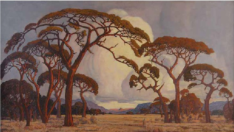 Pierneef: A summer afternoon, Bushveld (1928)