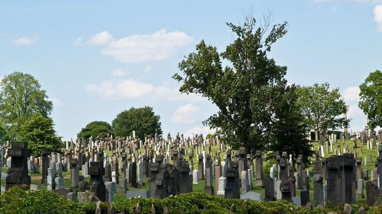 Calvary Cemetery, Woodside