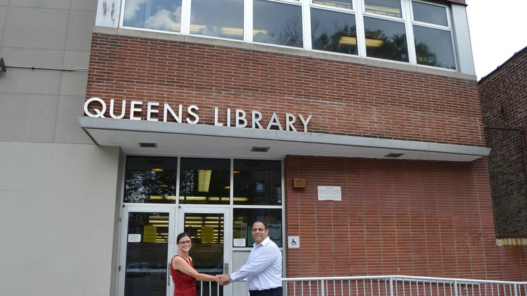 Queens Library at Sunnyside Library, New York