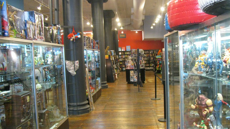 Forbidden Planet, New York