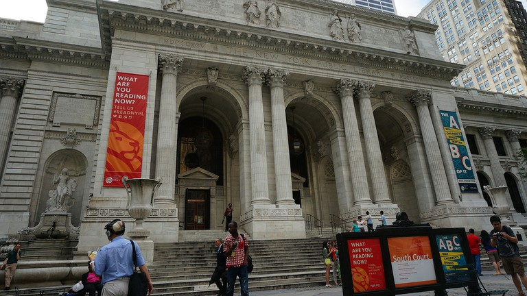 Main branch of New York Public Library