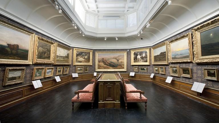 Daubigny hall inside the museum