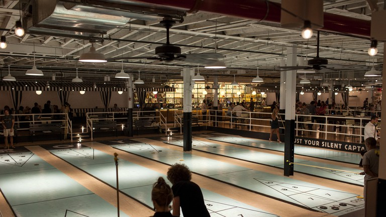 The Royal Palms Shuffleboard Club, New York