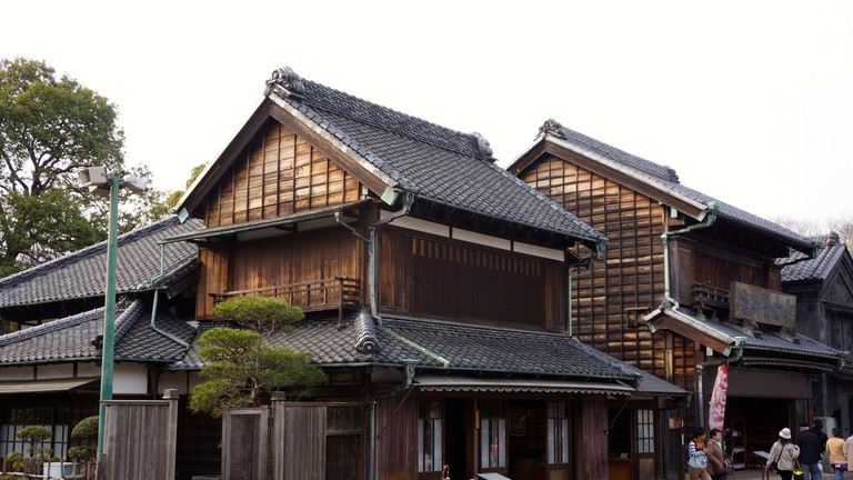 Antique architecture recreated at the Edo Tokyo Open Air Museum