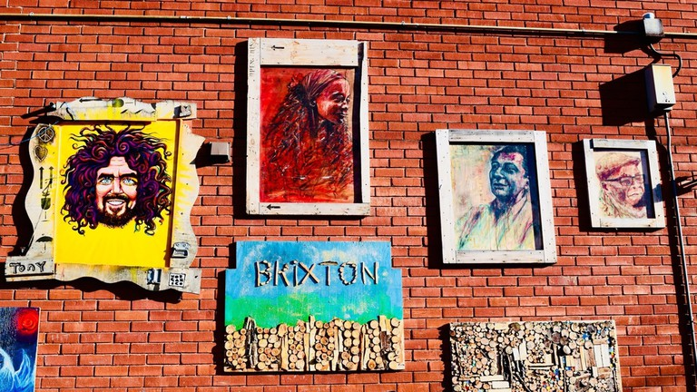 Colourful homages to Brixton's community