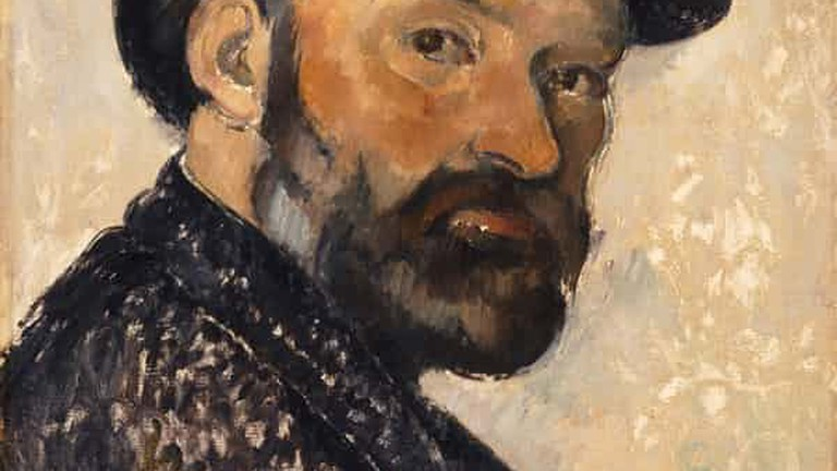 Paul Cézanne, Self Portrait in a Bowler Hat, 1892. Photograph: National Portrait Gallery, London