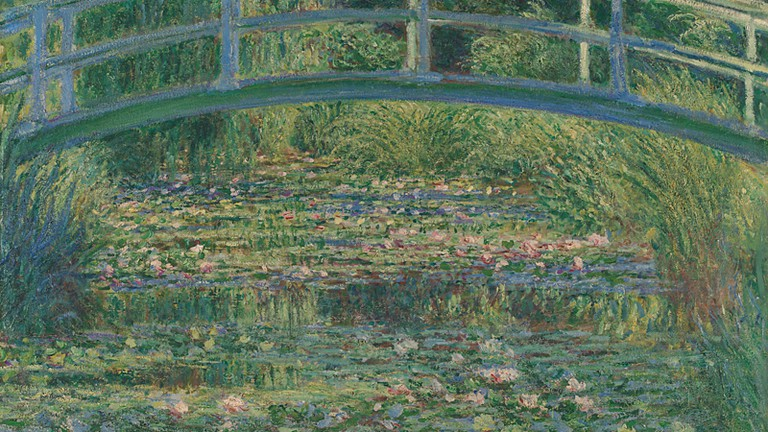 Claude Monet, The Water-Lily Pond, 1899