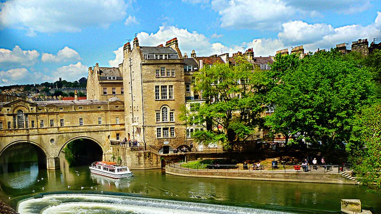 Pulteney Weir, Bath