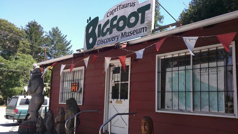 Bigfoot discovery museum in Felton! :D