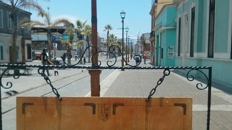 Entrance to Regional Museum of Iquique