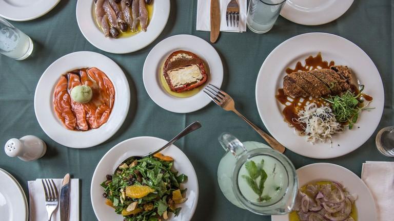A glimpse of Uri Buri's delicious menu