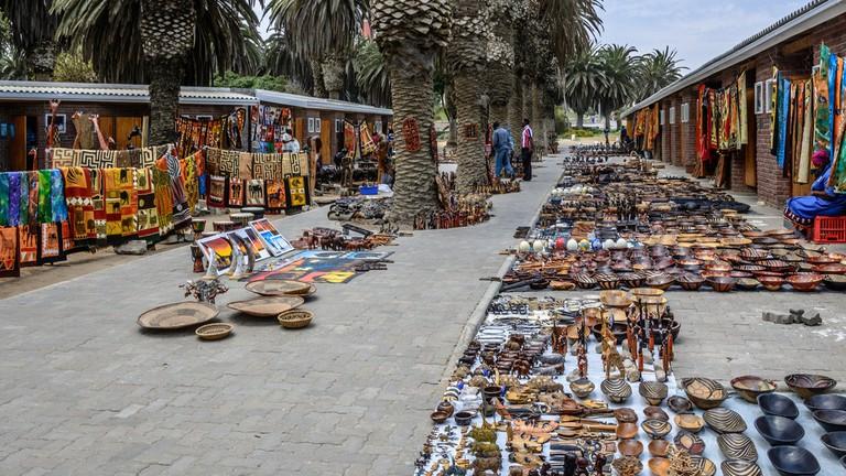 Arts and crafts in Swakopmund