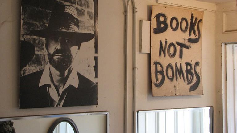 Inside the City Lights Bookstore