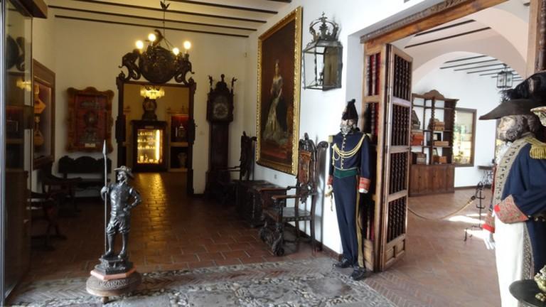 Quirky exhibits in Ronda's Lara Museum