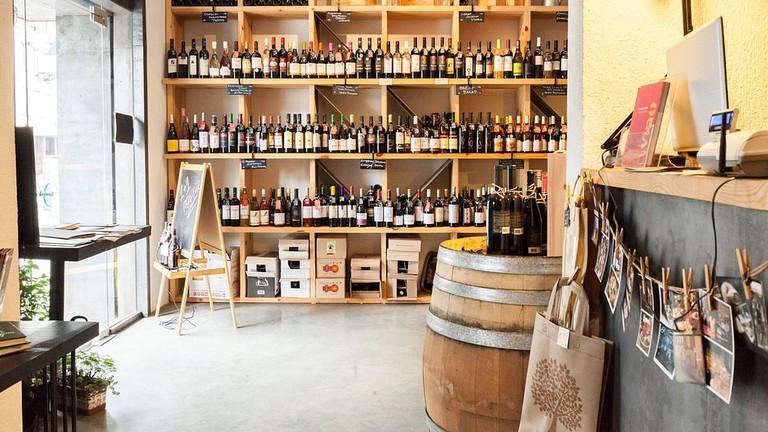 Vino Orenda WIne Shop in Sofia