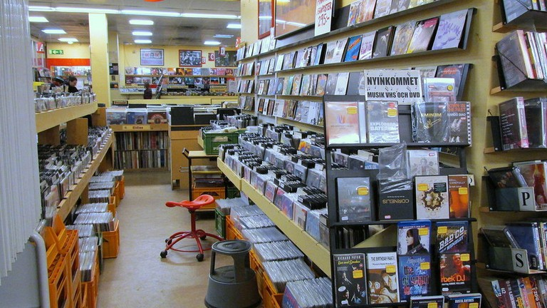 Stockholm has a great selection of vinyl stores