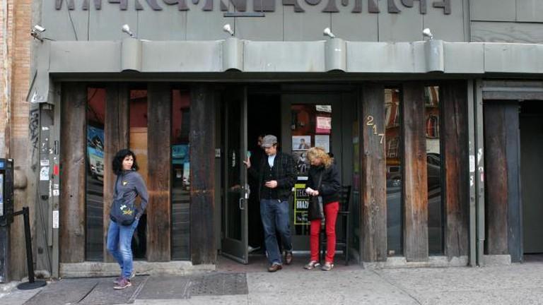 The Entrance at Mercury Lounge