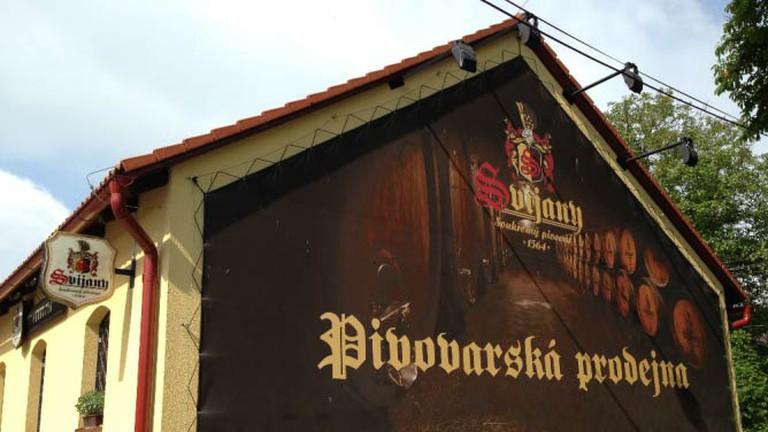 At the Svijany brewery
