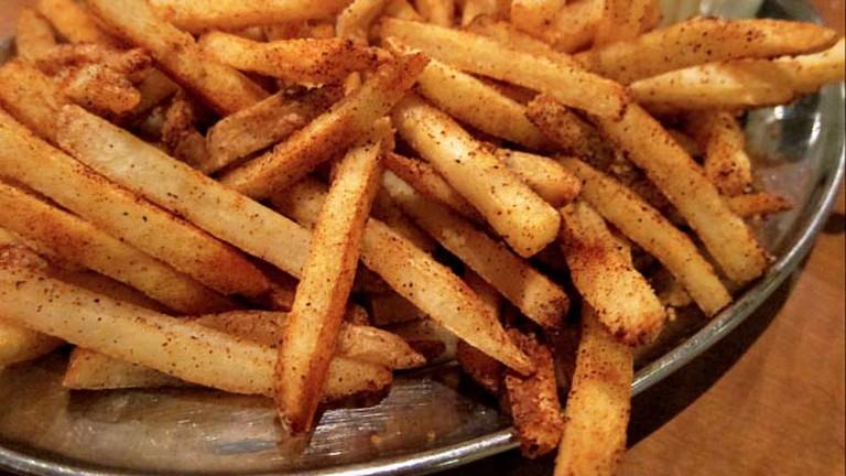 Fire Fries at Rattler's BBQ
