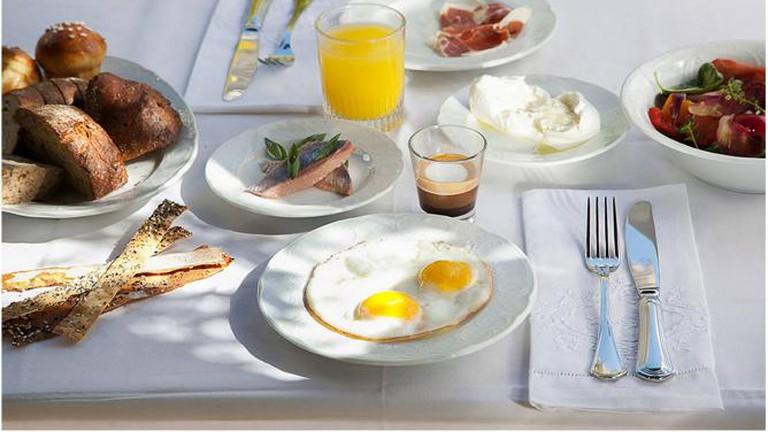 An Italian breakfast feast: Boker di Repubblica