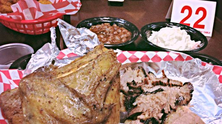 A signature dish at Boxer Barbeque Co
