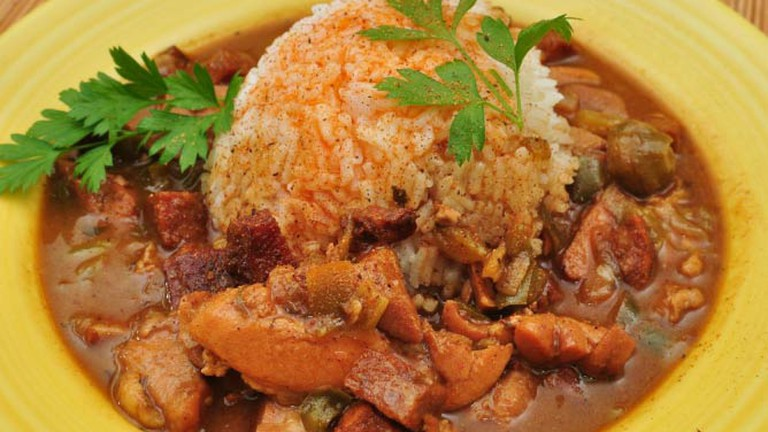 Chicken Gumbo with Andouille and Tasso