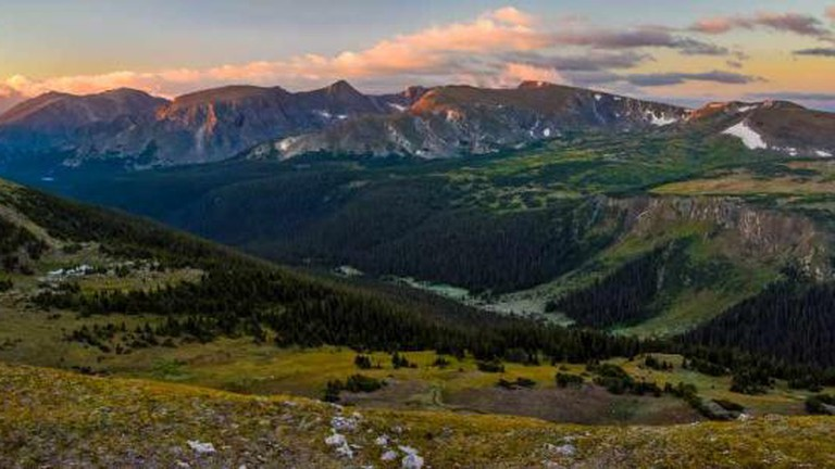 View of Rocky Mountain National Park