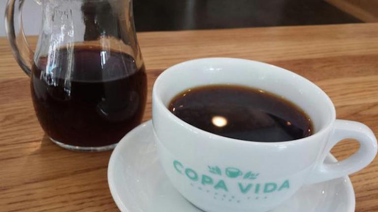 A Pourover Coffee From Copa Vida
