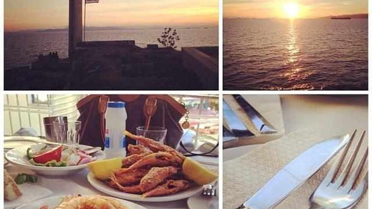 Sunsets & fried fish
