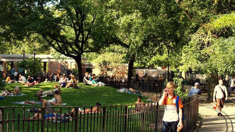 Central Knoll at Tompkins Square Park