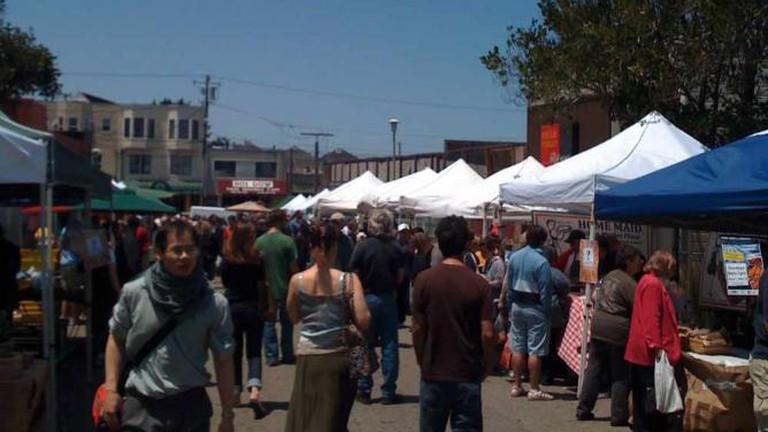 Peruse the Farmers' Market