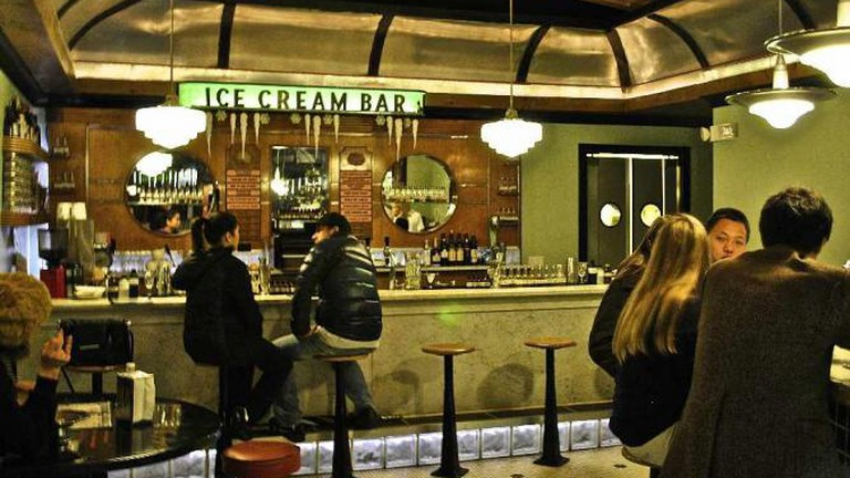 The Back Bar at The Ice Cream Bar