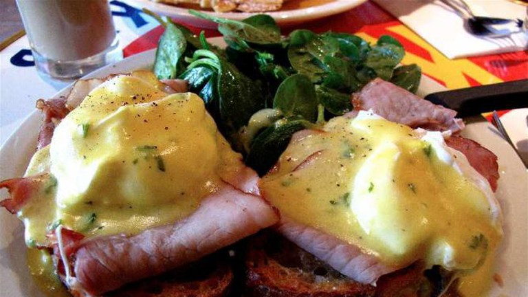 Eggs Benedict at The Butler & The Chef