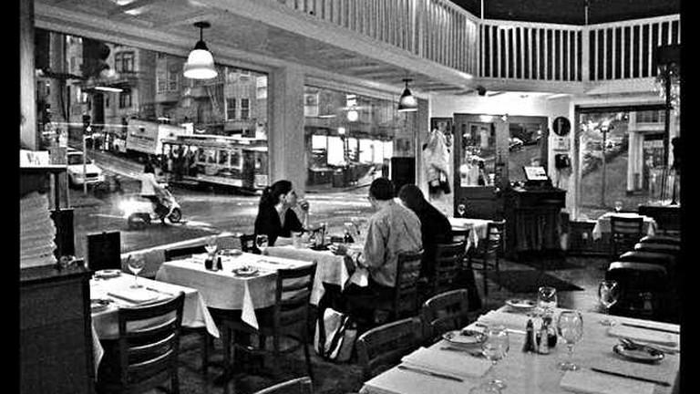 Trattonia Contadina restaurant interior