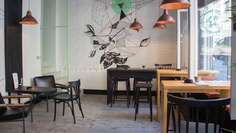 19Grams is one of the most stylish cafes in Belgrade