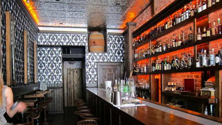 The Wilson and Wilson Bar Room inside Bourbon and Branch