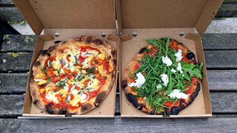 Sourdough Pizza, E5 Bakehouse, Homegirl London