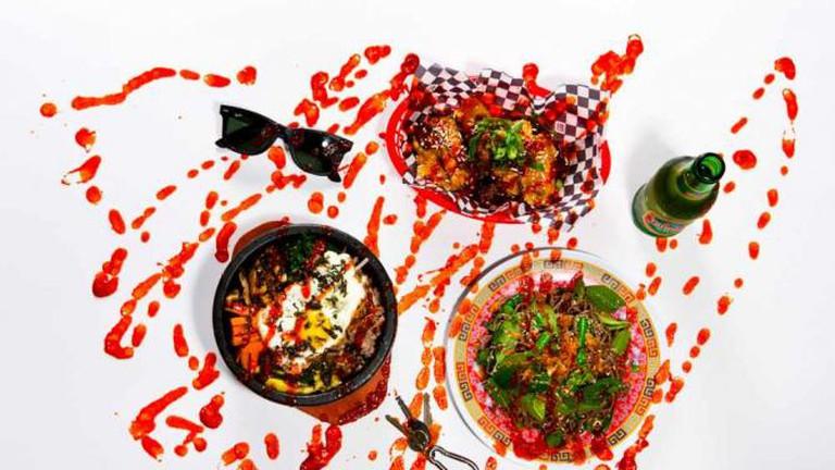 Diego San Sriracha Display