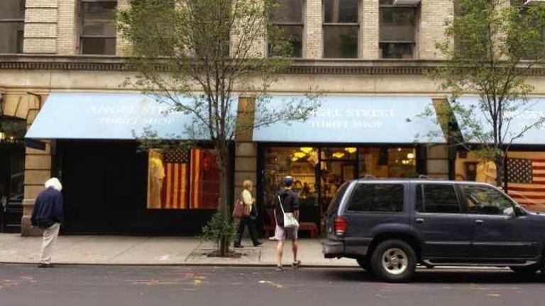 Angel Street Thrift Shop Exterior
