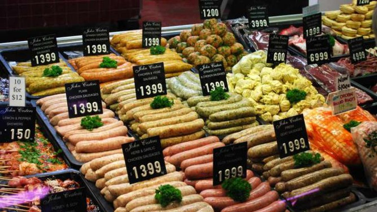 Make sure to try one of their 35 different sausages