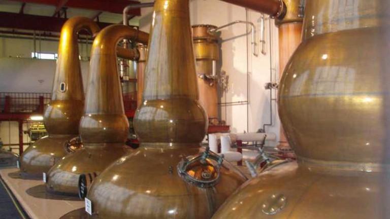 Glendronach Pot Stills