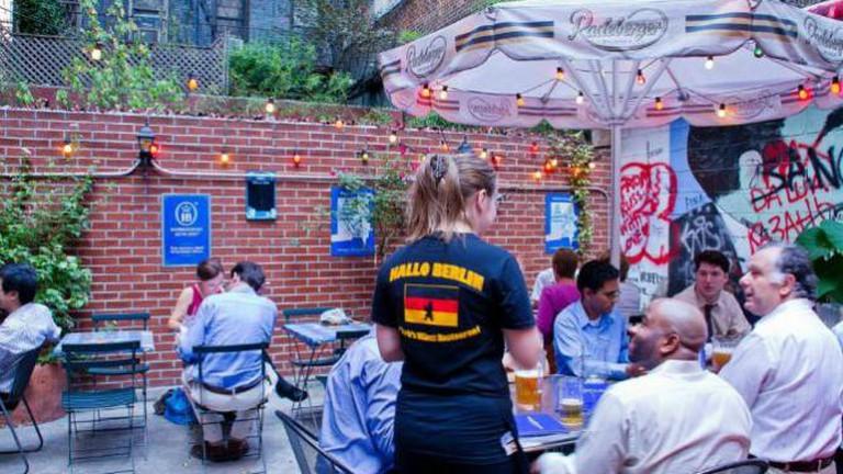 Beer Garden at Hallo Berlin