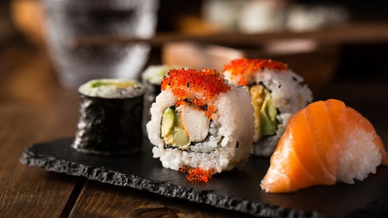 Sushi at