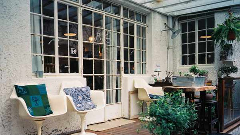 The balcony of Aroom