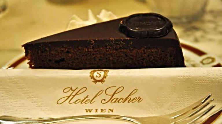 Sachertorte at Hotel Sacher