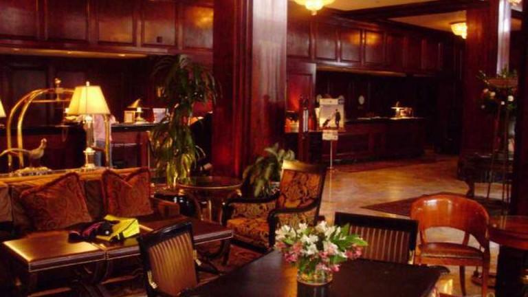 Lobby of the Benson Hotel, Portland, OR