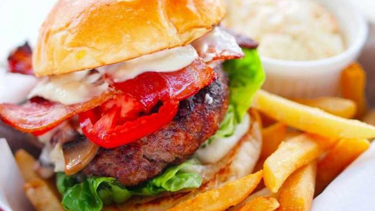 Bacon Marinated Burger