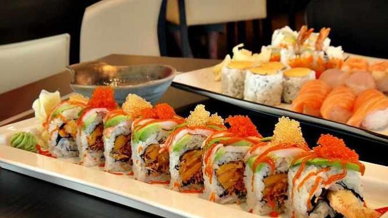 Haru Sushi- Spicy Prawn Roll