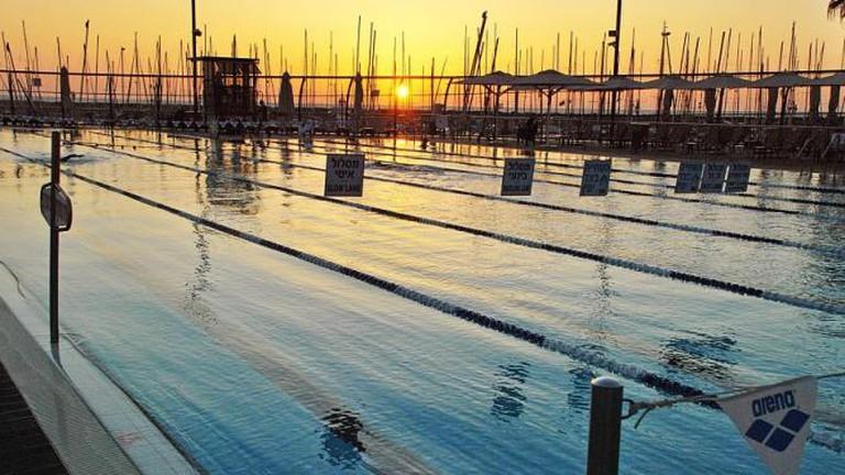 The Gordon Pool at Sunset